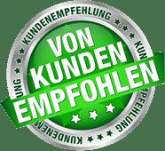 Kunden-Empfehlungs-Siegel